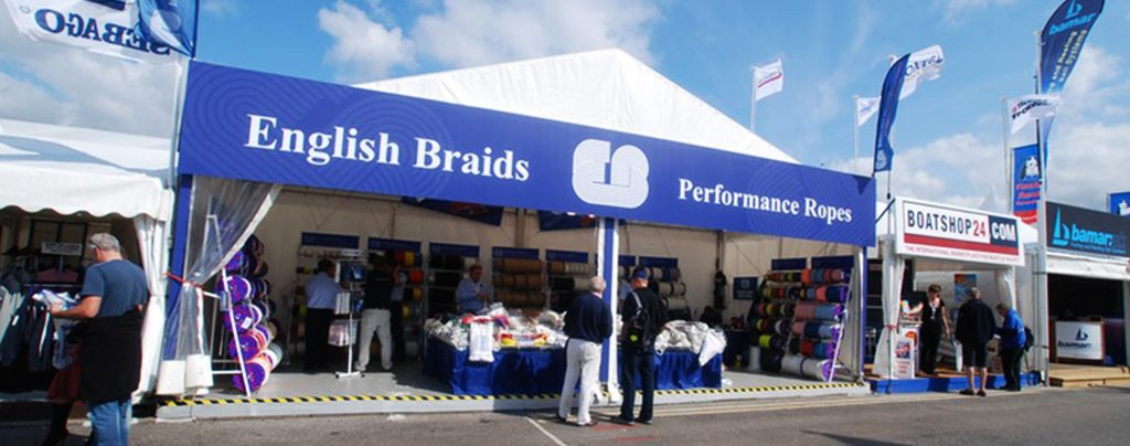 Branded stands at Southampton Boat Show
