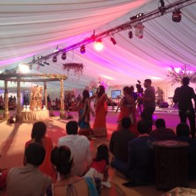 London Wedding Marquee Hire Dancefloor