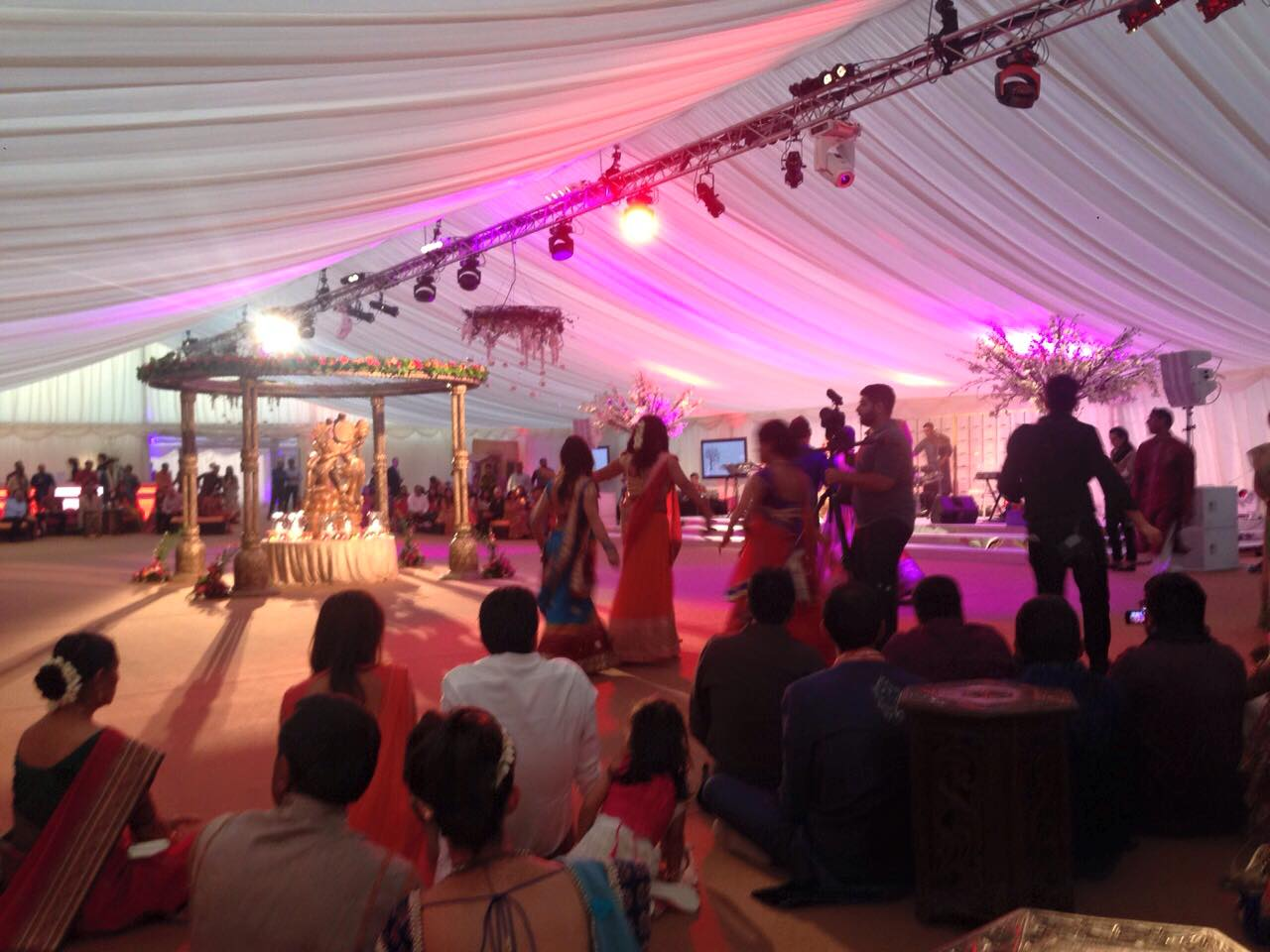 ... London Wedding Marquee Hire Dancefloor ... & Start of The Big Fat Indian Wedding - Marquee by Bees Marquees ...