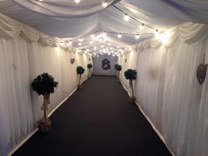 London Wedding Marquee Hire Entrance
