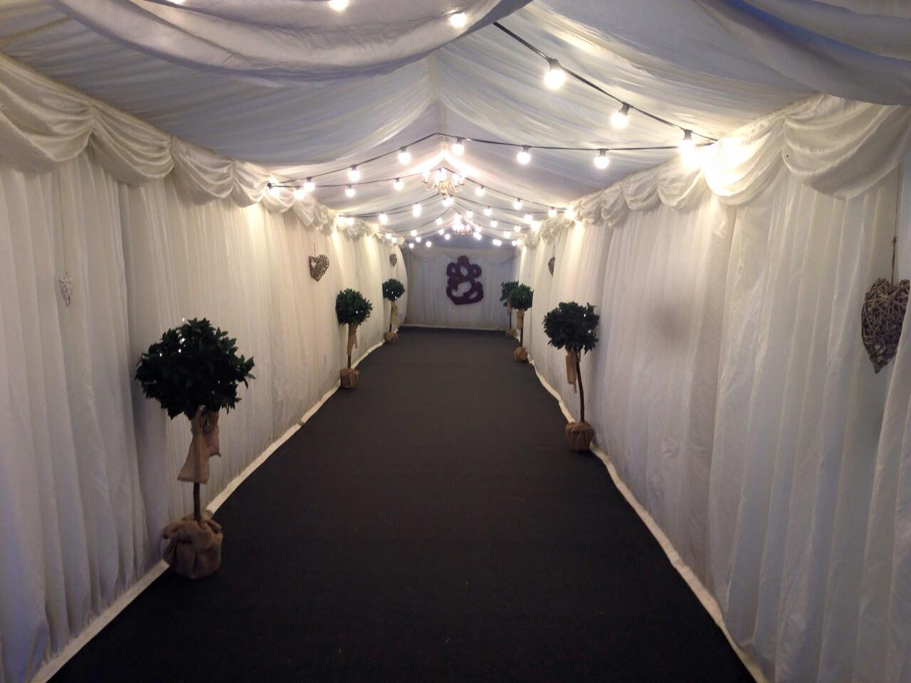 London Wedding Marquee Hire Entrance ... & Start of The Big Fat Indian Wedding - Marquee by Bees Marquees ...