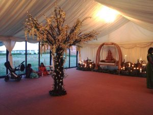 London Wedding Marquee Hire Hall