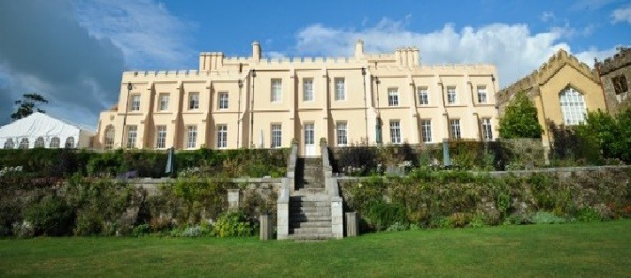 Pentillie Castle wedding marquee hire