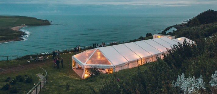 newdowns farm wedding marquee hire