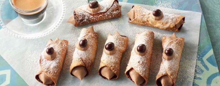 Great British Bake Off Wedding Desert - Kate's Espresso Martini Cannoli