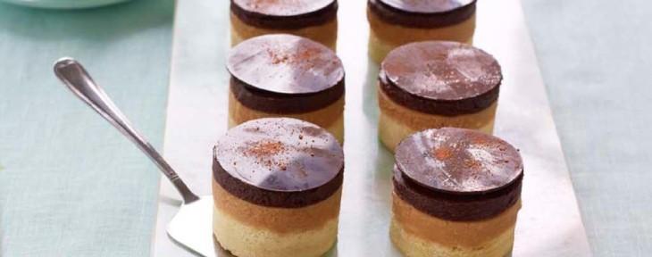 Great British Bake Off Wedding Desert - Sophie's Millionaire's Jaffa Shortbread